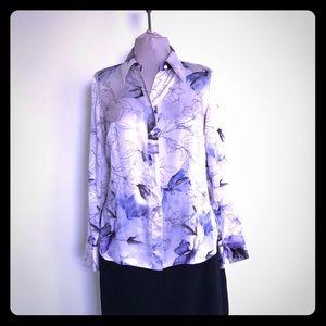 Women's dress shirt blouse by Ellen Tracy size 4